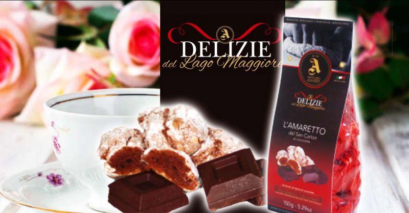 PASTICCERIA ALIVERTI - Offerta produzione artigianale vendita AMARETTO DEL SAN CARLON al ciocco