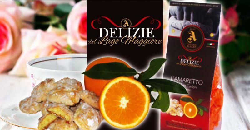 PASTICCERIA ALIVERTI - Occasione vendita online amaretti del SAN CARLON artigianali all'arancia