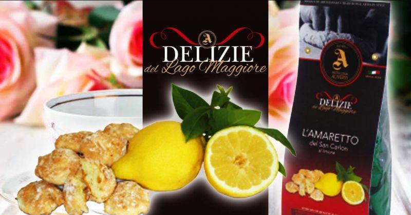 PASTICCERIA ALIVERTI - Promozione amaretti morbidi SAN CARLON artigianali al limone made Italy