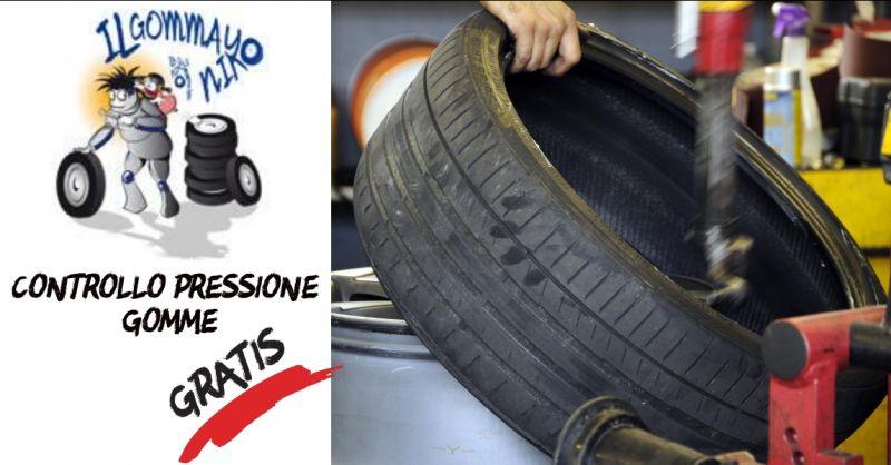 Il Gommayo - offerta controllo pressione gomme - occasione controllo gomme - Bordighera