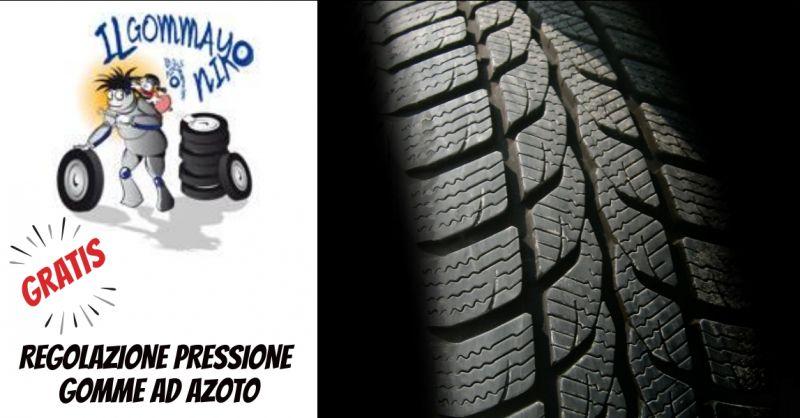 Il Gommayo - offerta regolazione pressione gomme - occasione controllo gomme - Bordighera