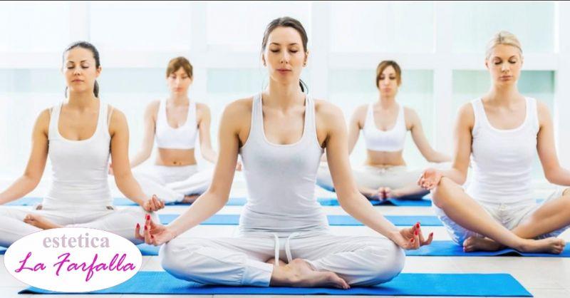 Estetica La Farfalla - occasione lezioni di yoga - offerta trattamenti mente corpo