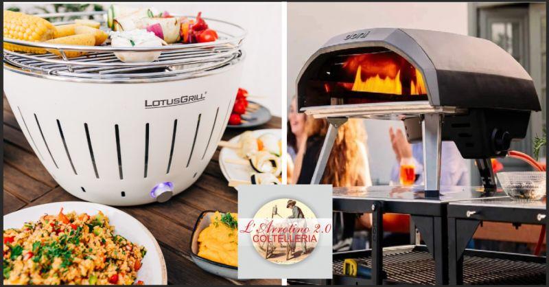 arrotino 2.0 offerta barbecue lotusgrill - occasione forno a legna ooni imperia
