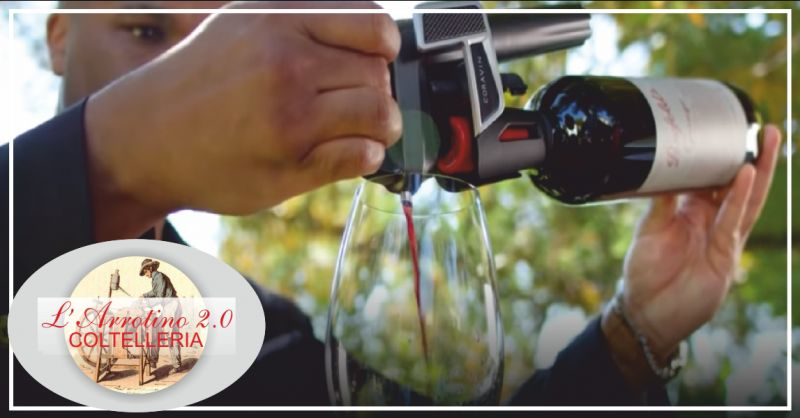 arrotino 2.0 offerta coravin vino - occasione sistema conservazione vino imperia