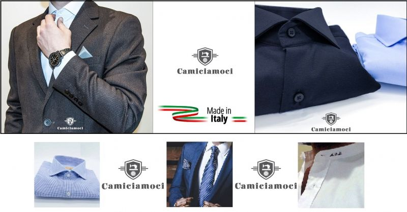CAMICIAMOCI NAPOLI - Offre de vente en ligne de chemises personnalisées couture made in Italy