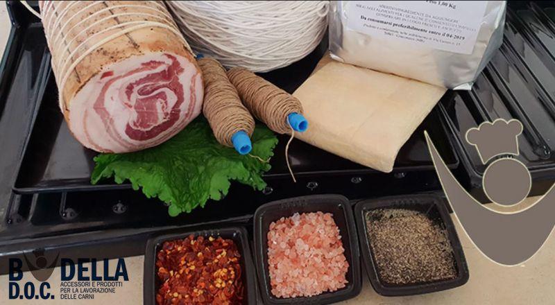 offerta vendita on line spezie per la lavorazione per le carni
