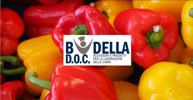 BUDELLA DOC offerta vendita estratto di peperoni poco piccante napoli