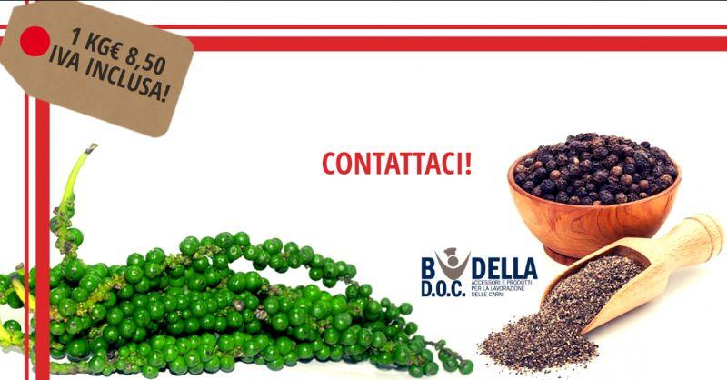 offerta vendita pepe nero semolato napoli - occasione vendita pepe nero indiano da 1 kg napoli