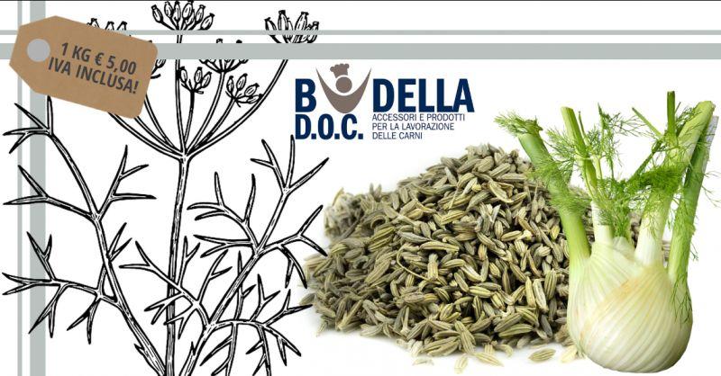 BUDELLA DOC - offerta vendita semi di finocchio interi prima scelta napoli