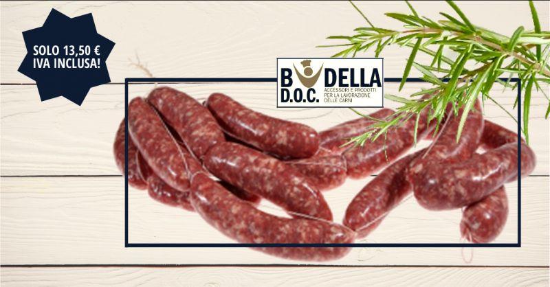BUDELLA DOC - offerta budello naturale di maiale cal 36 38 da 100 ya napoli