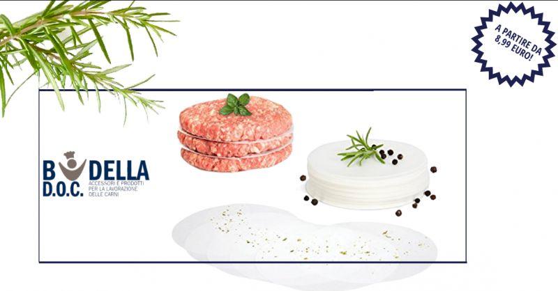 BUDELLA DOC - offerta vendita dischi di carta forno per hamburger napoli