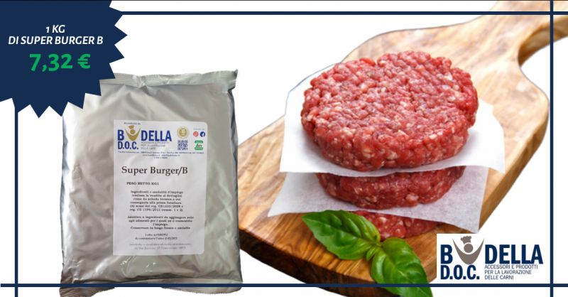 BUDELLA DOC - offerta miscela carne per hamburger super burger B napoli