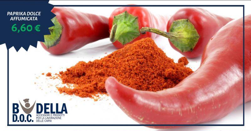 offerta paprika dolce affumicata napoli - occasione vendita paprika dolce in polvere napoli