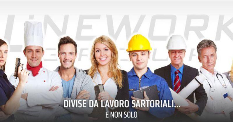 Line Work Group offerta abiti da lavoro - occasione divise da lavoro professionali Napoli