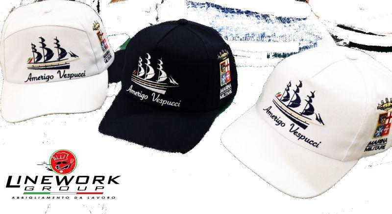 LINE WORK offerta divise personalizzabili - occasione cappelli da divise moderne Napoli