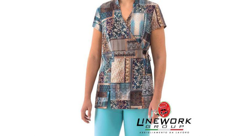 Linework group offerta divisa per estetista - occasione kimono etnico Napoli