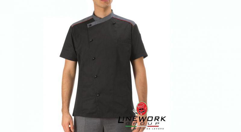 Linework group offerta giacca da cuoco - occasione abbigliamento chef slim fit Napoli
