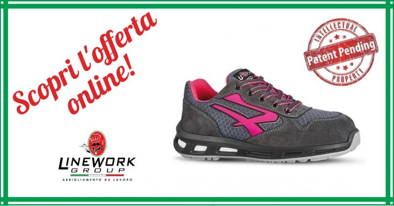 LINE WORK GROUP - offerta vendita scarpe antinfortunistiche u power verok s1p src napoli