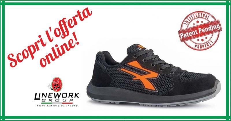 LINE WORK GROUP - offerta vendita scarpe antinfortunistiche u power red up atos napoli