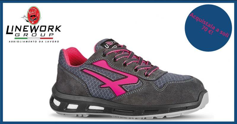 LINE WORK GROUP - offerta vendita scarpe antinfortunistiche femminili napoli