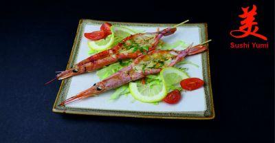 ristorante sushi yumi offerta servzio dasporto occasione servizio take away