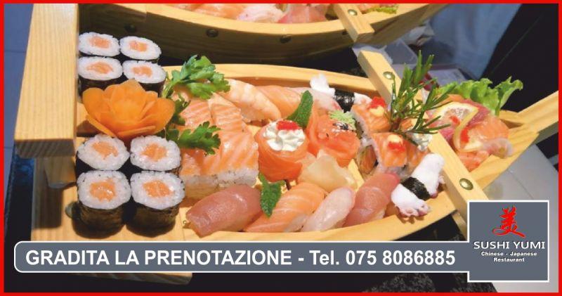 ristorante sushi yumi offerta sushi giapponese - occasione piatti asian fusion perugia