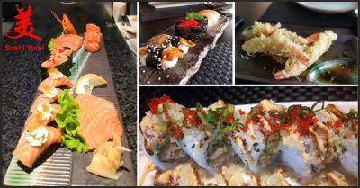 sushi yumi offerta sushi occasione menu all you can eat perugia