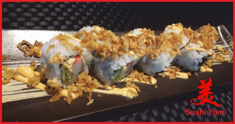 sushi yumi offerta sushi menu alla carta - occasione cucina cinese perugia