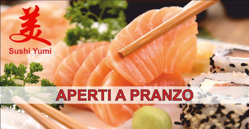 sushi yumi offerta sushi a pranzo - occasione sushi d'asporto perugia