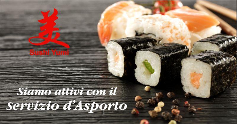 sushi yumi offerta sushi d'asporto - occasione servizio d'asporto citta di castello