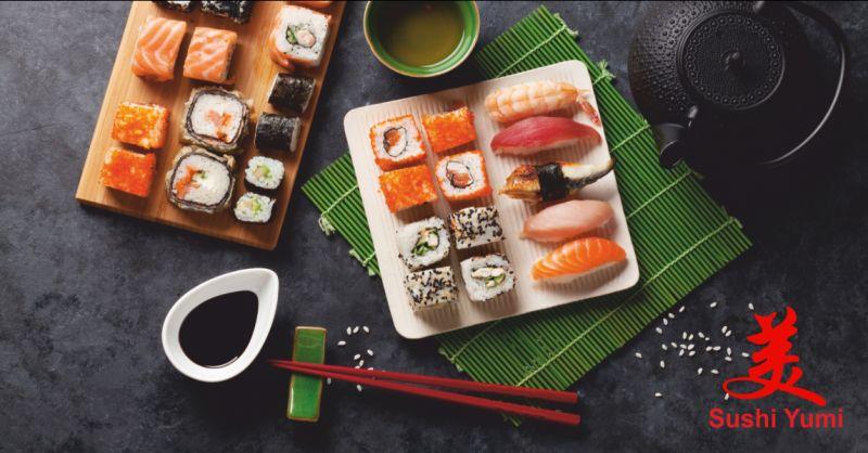 sushi yumi offerta ristorante di sushi a perugia - occasione sushi d'asporto citta di castello