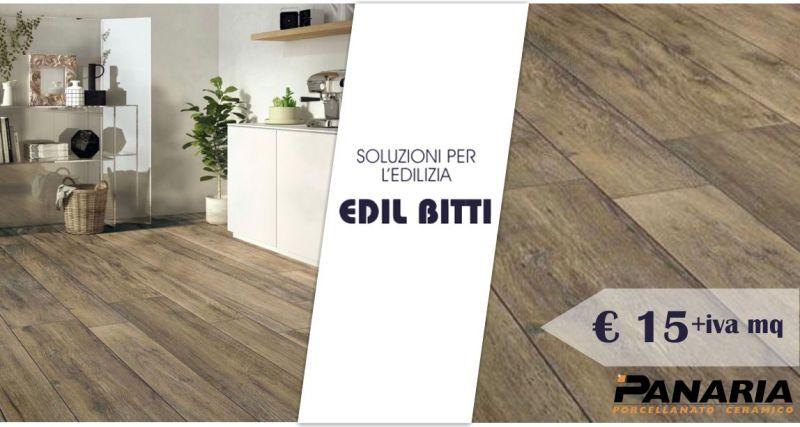 EDIL BITTI - offerta gres porcellanato effetto legno Panaria Drove 20 x180