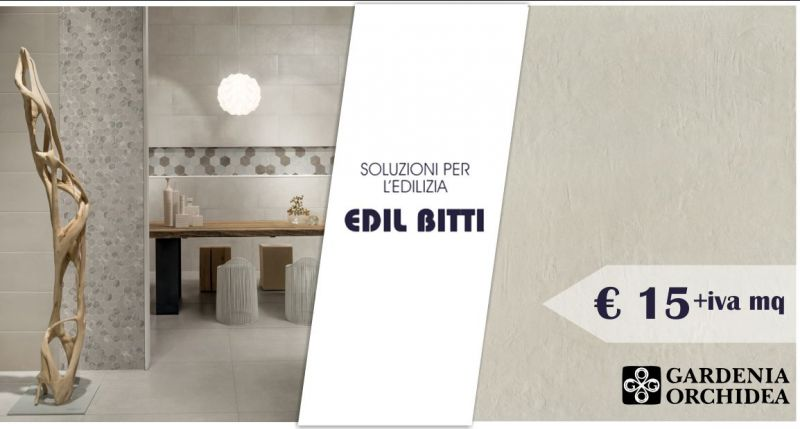 EDIL BITTI - offerta gres fine porcellanato Gardenia Orchidea mood clay 40x80