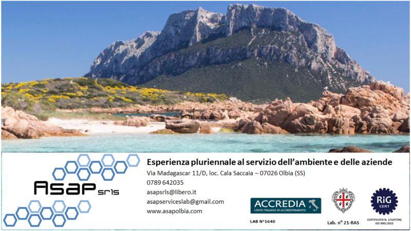 ASAP LABORATORIO ANALISI AMBIENTALI MICROBIOLOGICHE CHIMICHE  - offerta certificazioni HACCP