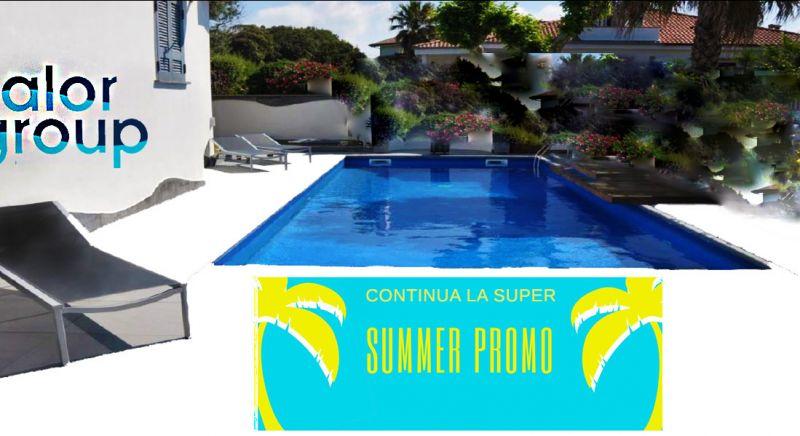 offerta piscina interrata Napoli - occasione piscine a sfioro in sconto napoli