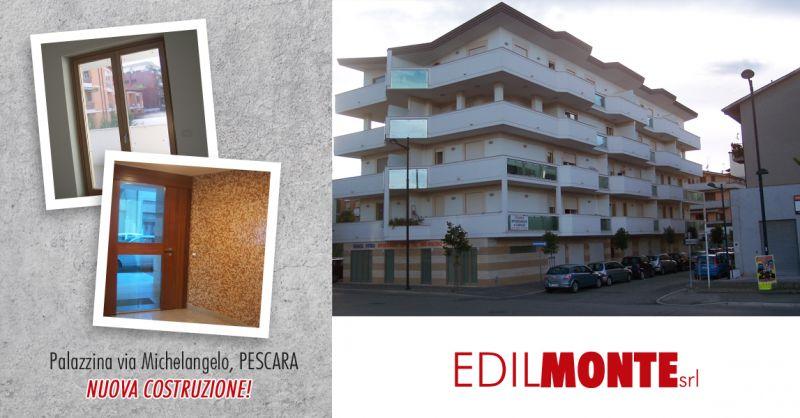 EDILMONTE SRL - offerta vendita appartamenti nuova costruzione pescara