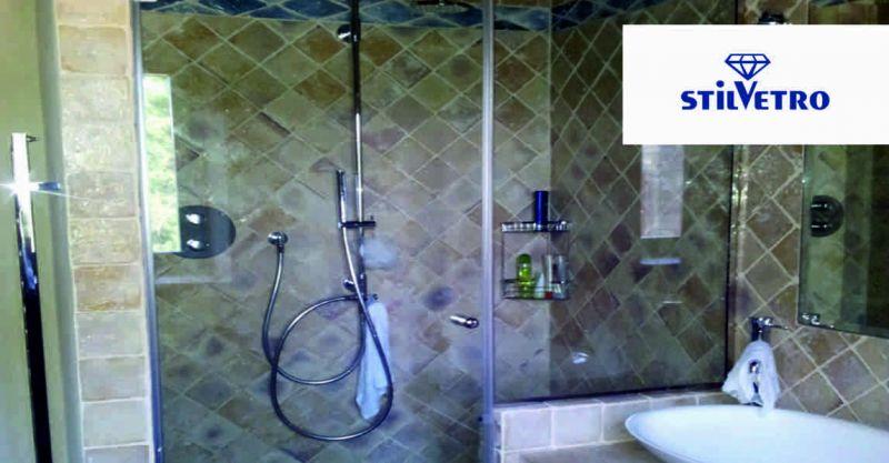 Vetreria Stilvetro offerta reliazzazione box doccia - occasione vetri per box doccia Anghiari