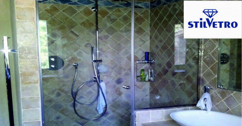 Vetreria Stilvetro offerta vetri box doccia - occasione produzione box doccia Sansepolcro