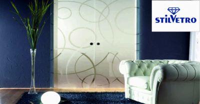 vetreria stilvetro offerta porte con vetrate occasione realizzazione porte anghiari