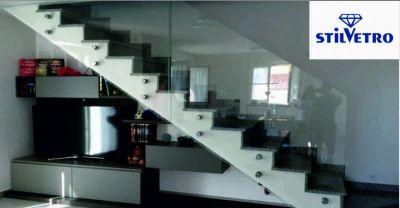 vetreria stilvetro offerta parapetti in vetro occasione scalini in vetro sansepolcro
