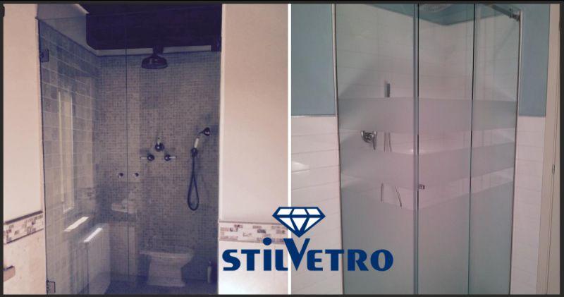 vetreria stilvetro offerta vetri per box doccia - occasione cabina doccia in vetro