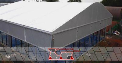 amaranto idea offerta copertura campi da padel occasione installazione di coperture padel