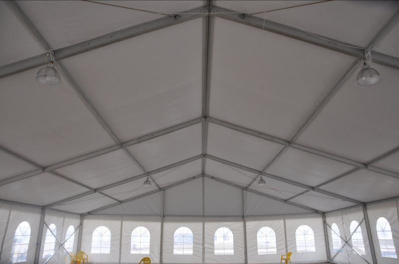AMARANTO IDEA - Offerta vendita TENDOSTRUTTURA 15X40 mt NUOVA struttura in alluminio anodizzato