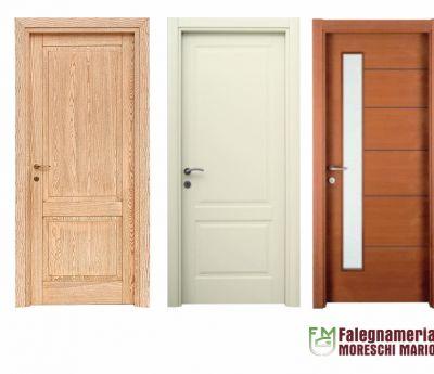 falegnameria moreschi offerta porte interne classiche promozioni porte interne moderne