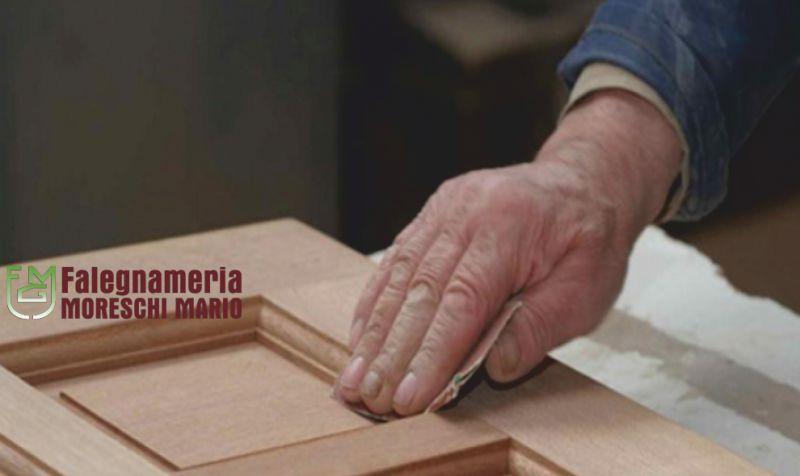 FALEGNAMERIA MORESCHI offerta serramenti in legno lamellare - promo porte scorrevoli