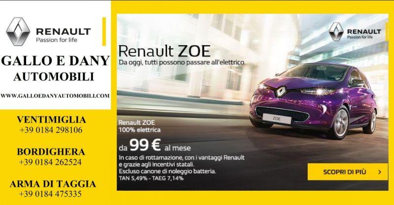 Gallo e Dany automobili - offerta automobile elettrica - occasione automobile elettrica renault