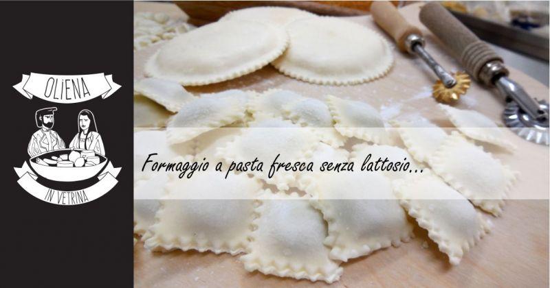 Oliena in Vetrina - offerta formaggio pecora pasta fresca senza lattosio per ripieno
