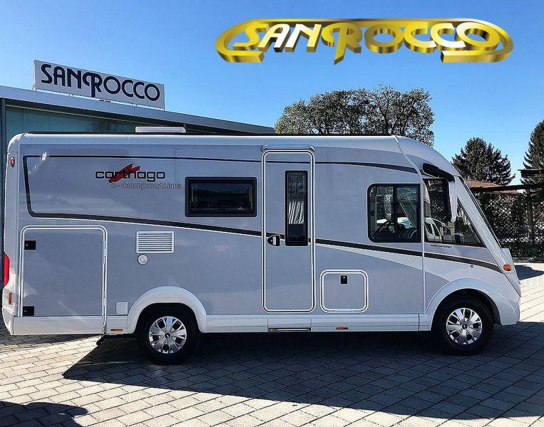 SANROCCO offerta camper compatto carthago c compactline 138 - motorhome pronta consegna
