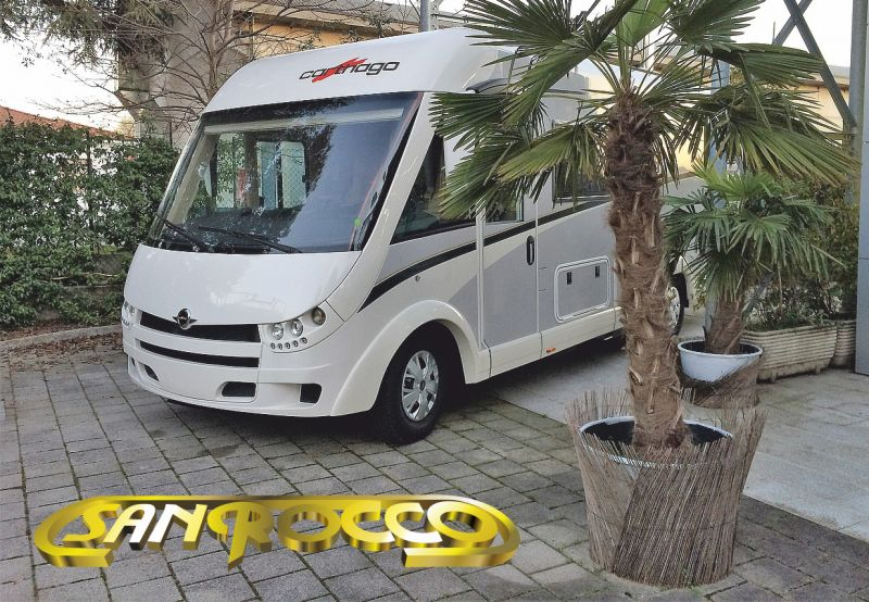 SANROCCO offerta camper carthago c tourer i 149 - motorhome letti gemelli con basculante