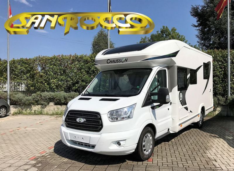 SANROCCO offerta camper semintegrale chausson 628 eb - promozione camper pronta consegna